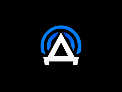 Icon/logo for app tower airwaves icon app telecom logo