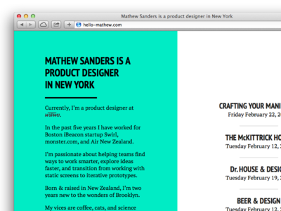 Hello Mathew! pt sans pt serif paratype personal