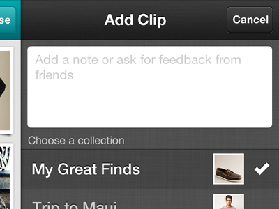 iPhone app detail iphone