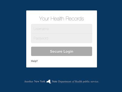 Health Records Login ccd health personal health record