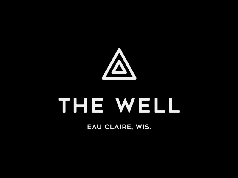 The Well Logo Design, 2019 branding design typography wellness center wellness logo fitness logo fitness center wellness exercise fitness logo design branding logo