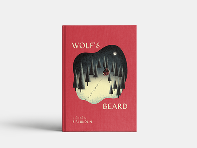 Wolf's Beard Cover Illustration + Layout vector storybook folk tale fairytale northwoods forest digital illustration photoshop print drawing graphic illustration