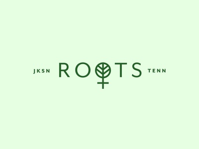 Roots Inc. nature roots tree venus logo mark design tennessee jackson identity branding logo