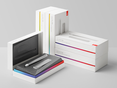 Adobe Ink & Slide packaging