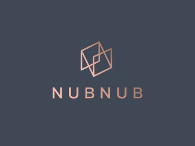 NubNub double N interiors design logo