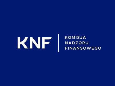 KNF Komisja Nadzoru Finansowego logo