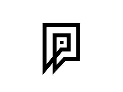 Logo letter P