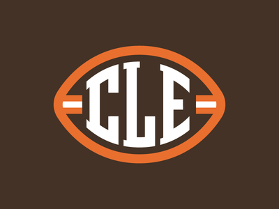 CLE Football nfl american football sports ohio type browns cleveland football