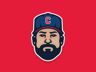 Klubot sports avatar indians tribe pin ohio cleveland baseball