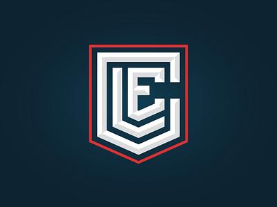CLE Badge logo shield cle crest city ohio badge cleveland