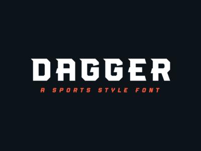 Dagger Font