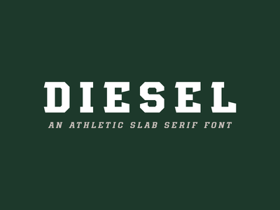 Diesel Font slab font serif slab serif block font block typography type sports sports fonts sports font custom font font