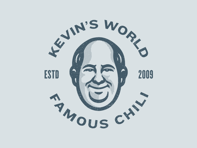 Kevin Malone dunder mifflin avatar mascot character design character world famous chili the office malone kevin