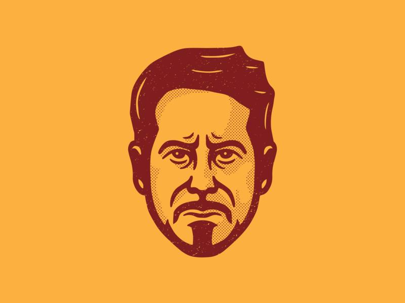 Tony Stark   Iron Man avatar procreate illustation stark marvel infinity war endgame avengersendgame avengers tony stark iron man
