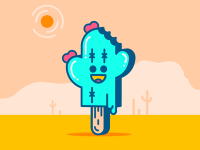 I'm Melting! mealting heat arizona tucson popsicle cactus upload first shot throw free