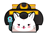 Cat Geisha Gold