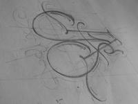 JAS monogram sketch