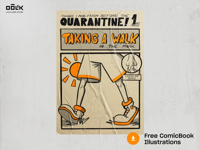 Free Comic Book Illustrations 01 book coloring type quarantine comic book comic illustrator design illustration