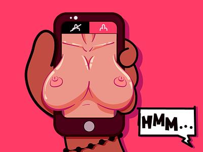 NEW NUDES dick swipe tinder millennial phone sex nudity boobs tits nudes