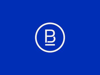 Broesky Painting logo circular stencil logo branding
