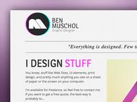 Personal Website WIP