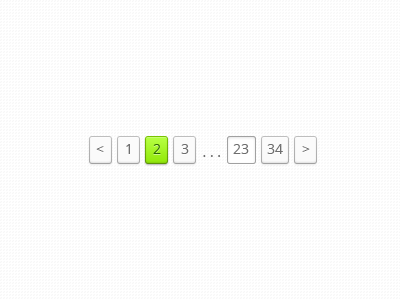 Pagination Concept (Animated) pagination animation gif animated concept ux ui psd freebie web design page navigation user interface user experience ui design matt bomer