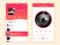 Music redesign app