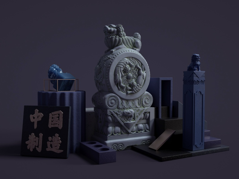 Charismatic China-10 illustration 3d