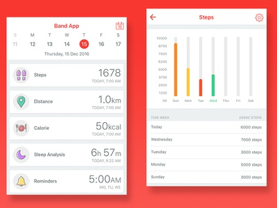 Fitness Band App