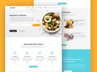 Food Web Landing Page