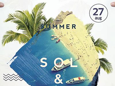 Sol & Mar Flyer