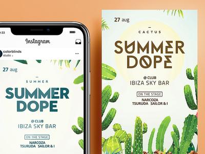 Summer DOPE Flyer