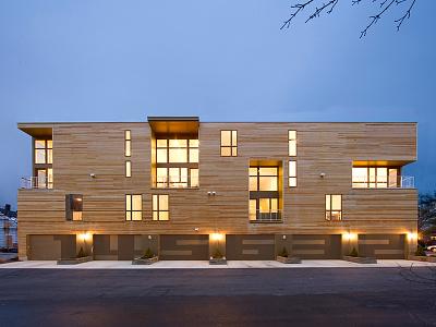Penn Street Lofts garage elevation lofts architecture