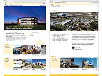 Wiley Wilson Corporate Website wordpress website webdevelopment webdev webdesign sitedesign site html5 html css3 css architecture