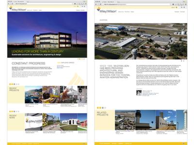 Wiley|Wilson Corporate Website wordpress website webdevelopment webdev webdesign sitedesign site html5 html css3 css architecture