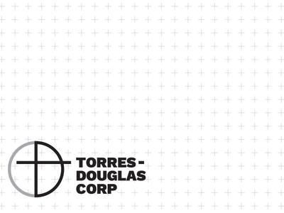 Torres-Douglas Corporation - Identity logo identity drafting construction architecture architecturegraphics tdc