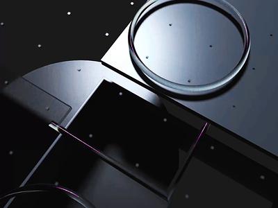 HOLO Animation texture transparent glass brand identity c4d 3d animation branding motion motion graphics design