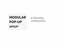 Modular Pop-up Shop Demo