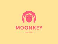 Logo Moonkey Babysitting App