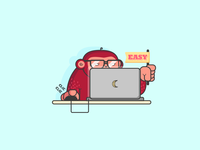 [Moonkey Babysitting] Coding Monkey