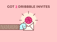 [OVER] 2 Dribbble Invites to give away