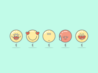 Cool Emoticons Set