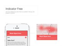 iOS7 Concept — Indicator Free