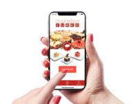Cupcake ordering app for iPhoneX