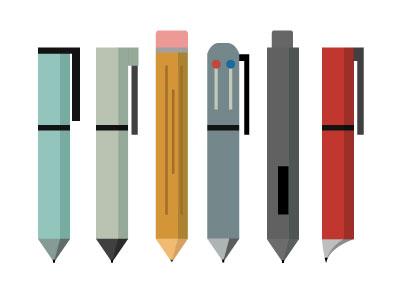 Pens pen pens pencil pluna office office supplies supplies