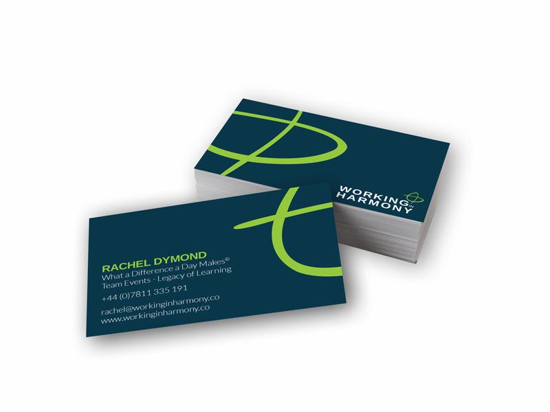 Working In Harmony Business Card By Joe Baker Dribbble Dribbble