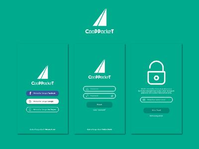 Cooppocket Signup & Signin UI