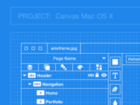 Canvas Wireframe