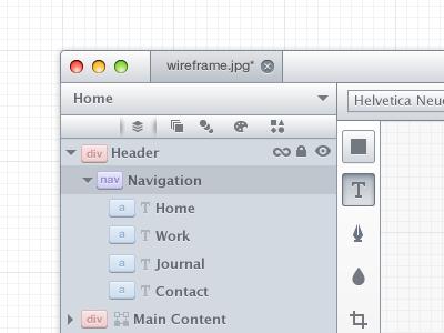 Canvas App gui ui interface mac osx web tool