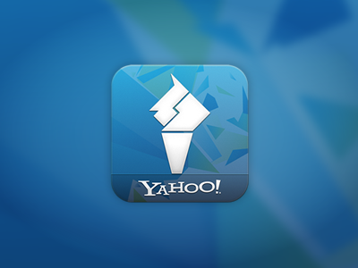 Yahoo! London Olympics App ios android yahoo olympics london 2012 blue torche geometry sports runningoutoftags